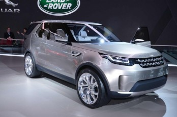 � ����� ��������� Discovery ����� ����� ���� Land Rover