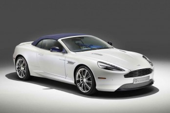 2015 Aston Martin DB9 Volante Morning Frost
