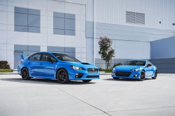 Спецверсия Series.HyperBlue для Subaru BRZ и WRX STI