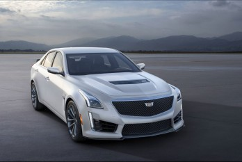 2016 Cadillac CTS-V Crystal White Frost Edition