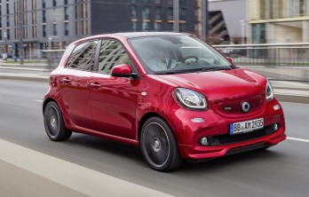 2016 Smart Forfour от Brabus