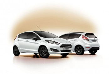 Ford Fiesta Black and White, Ford Focus Black and White