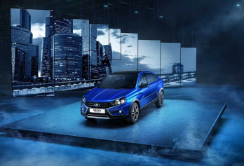2021 Lada Vesta Cross BLACK
