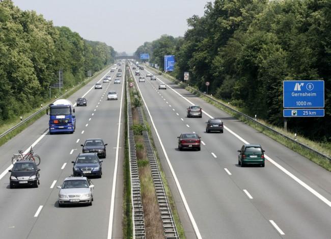 Немецкий автобан