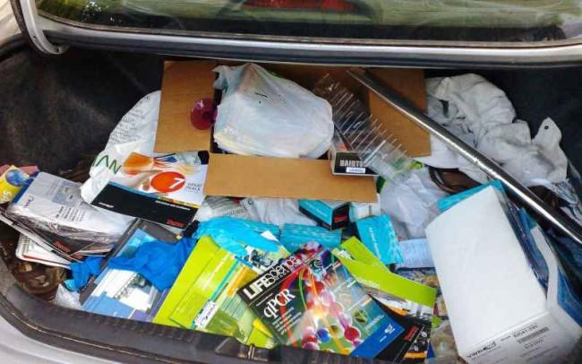 Хлам в багажнике
