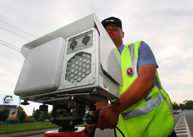 Как работают камеры на пешеходов - 489