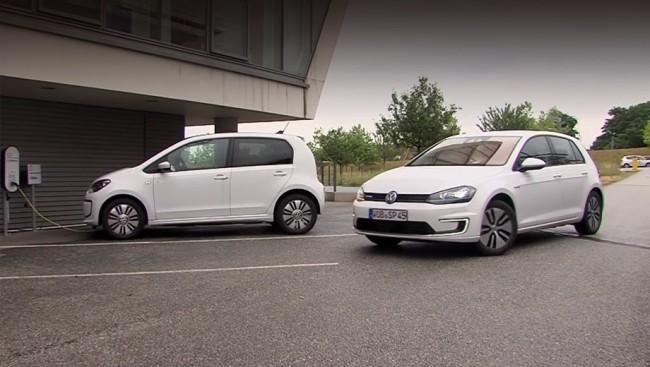 Проект V-Charge, Volkswagen e-Golf