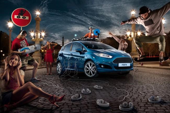 Автомобиль Ford Fiesta и его владельцы