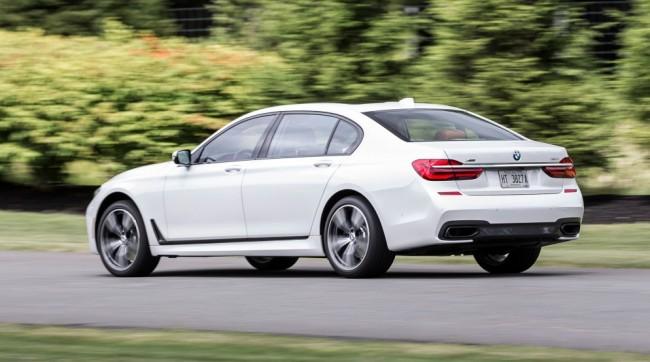 BMW 7-Series спецсерии M Driver's Line