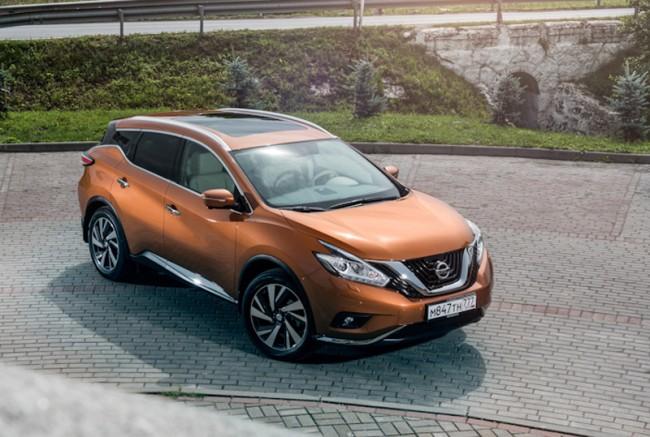 2015 Nissan Murano (модель для России)
