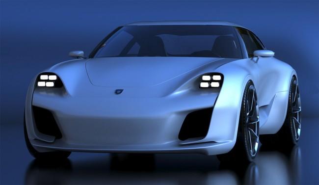 2019 Porsche 911 (предварительное изображение, автор - Александр Селипанов)