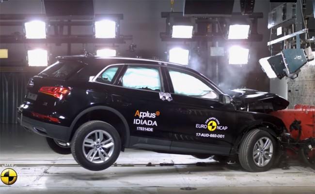 Краш-тест Euro NCAP 2017 Audi Q5