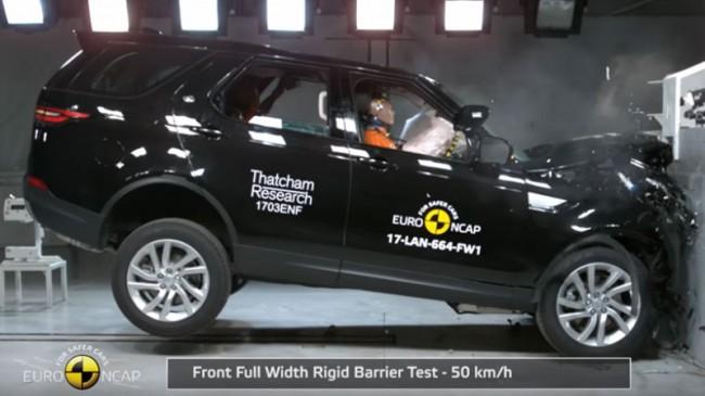Краш-тест Euro NCAP Land Rover Discovery