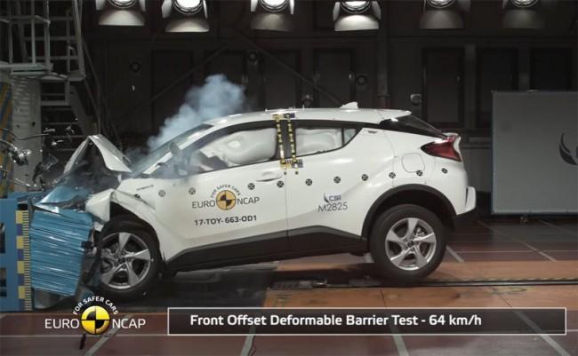 Краш-тест Euro NCAP Toyota C-HR