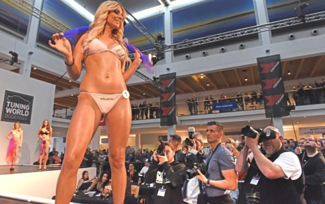 """""""Мисс Тюнинг 2017"""" Ванесса Шмитт. Tuning World Bodensee"""