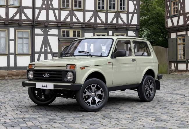 2017 Lada 4x4