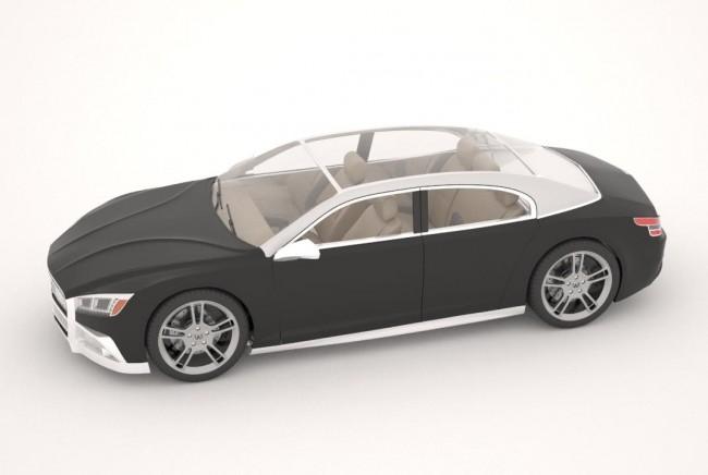 Концептуальный автомобиль «Волга-2020» впечатлил западных знатоков