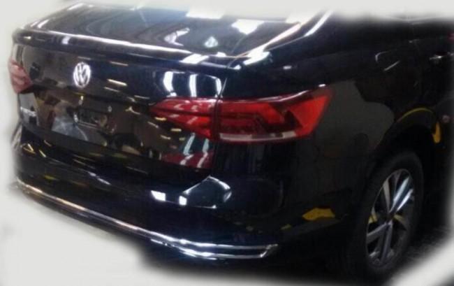 2018 Volkswagen Virtus (Polo Sedan). Шпионское фото