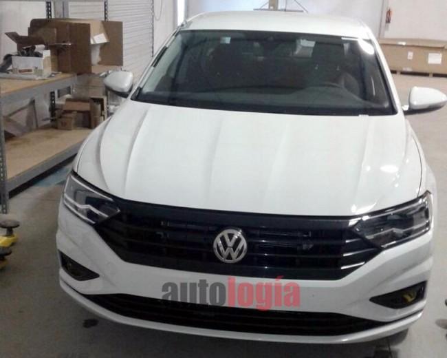 2019 Volkswagen Jetta (шпионское фото)