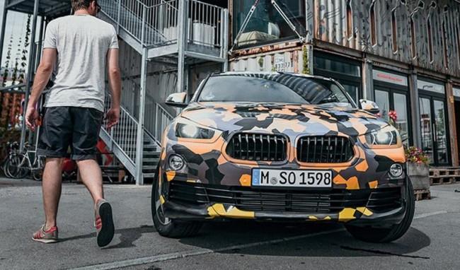 BMW X2 (предварительное изображение)