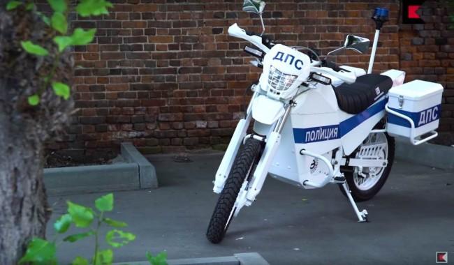 "Электромотоцикл Иж концерна ""Калашников"""
