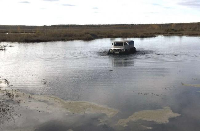 Разработанный наУрале грузовой арктический вездеход благополучно прошел тестирования
