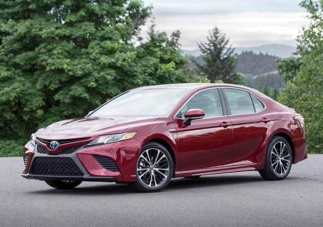 2018 Toyota Camry (US)