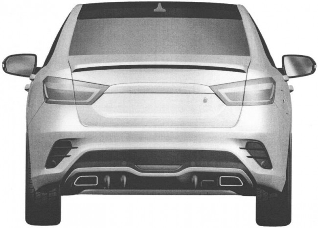 Lada Vesta Sport (патентное изображение)