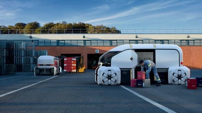Робоавтомобиль Renault EZ-PRO