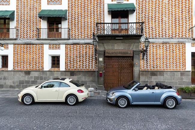 VW Beetle и VW Beetle Cabriolet в версии Final Edition
