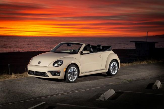 Volkswagen Beetle Cabriolet Final Edition