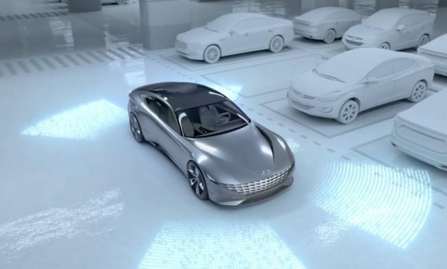 Система беспроводной зарядки электромобилей Hyundai