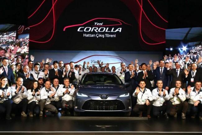Запуск производства Toyota Corolla нового поколения в Турции (январь, 2019)