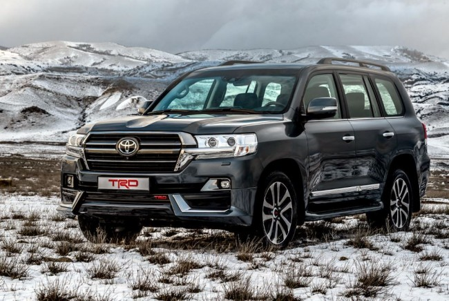 2019 Toyota Land Cruiser 200 TRD