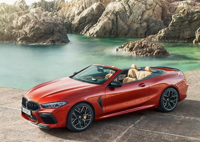 2020 BMW M8 Convertible Competition
