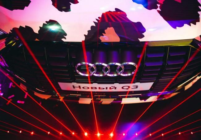 Презентация Audi Q3 в Москве