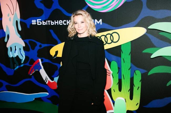 Презентация Audi Q3 в Москве. Юлия Высоцкая