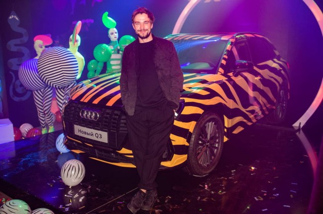 Презентация Audi Q3 в Москве. Александр Петров