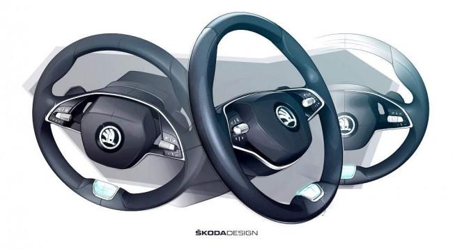 2020 Skoda Octavia (предварительное изображение)