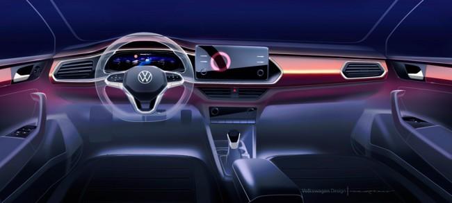 2021 Volkswagen Polo Sedan (предварительное изображение)
