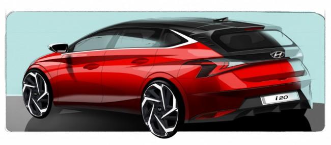 2021 Hyundai i20 (предварительное изображение)
