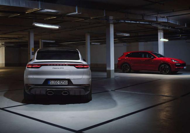 2020 Porsche Cayenne GTS и 2020 Porsche Cayenne GTS Coupe