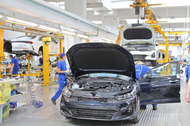 Автотор, производство бизнес-седана Kia K5