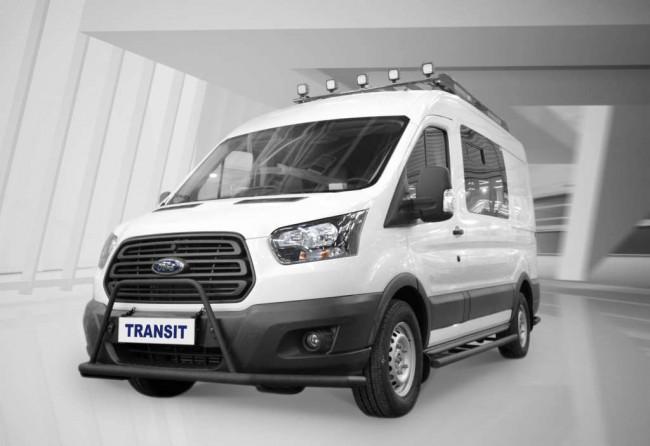 Ford Transit для охотников и рыболовов