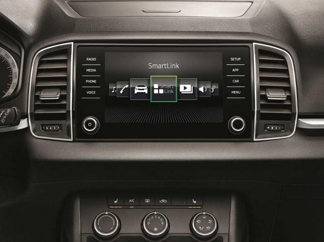 Система SmartLink в автомобилях Skoda