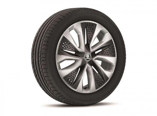 Новые колеса в Skoda 2021 модельного года