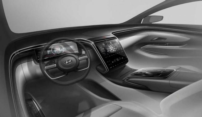 2021 Hyundai Tucson (предварительное изображение)
