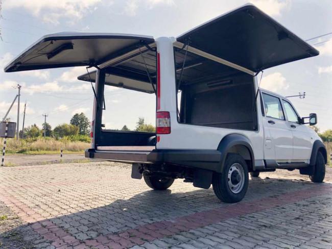 """Многофункциональный фургон на базе """"УАЗ Профи"""""""