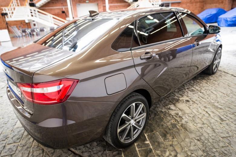 Шикарная версия Лада Vesta президента «Автоваза» рассекречена нафото