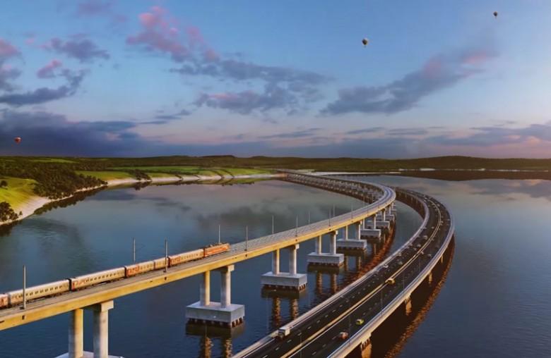 Аксёнов считает оптимальным выбранное название для моста через Керченский пролив